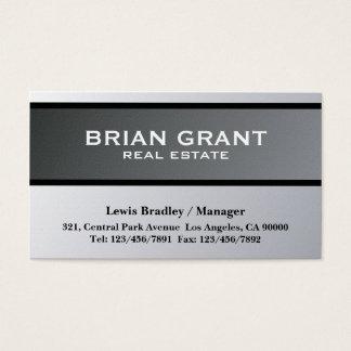 Propiedades inmobiliarias - tarjetas de visita