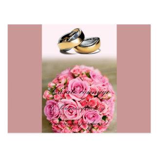 proposición de matrimonio romántica tarjetas postales