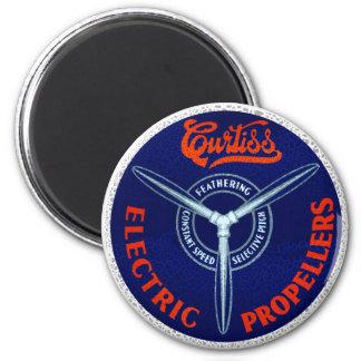 Propulsores eléctricos de los aviones de Curtis Imán Redondo 5 Cm