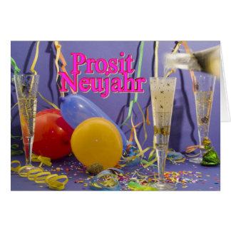 Prosit Neujahr Tarjeta De Felicitación