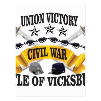 protagoniza el vickburg de los gorras postal