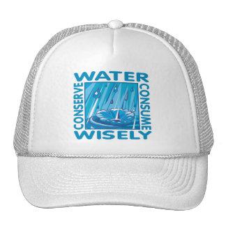 Protección de agua gorros bordados