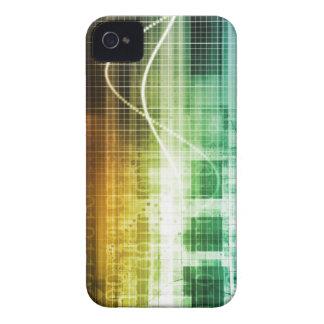 Protección de datos y exploración de la seguridad carcasa para iPhone 4