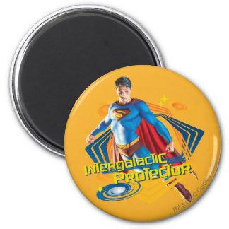 Protector intergaláctico del superhombre imanes
