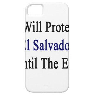 Protegeré El Salvador hasta el extremo iPhone 5 Carcasa