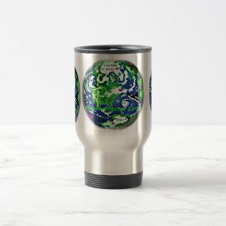 Proteja el acero inoxidable de la paz global de la taza
