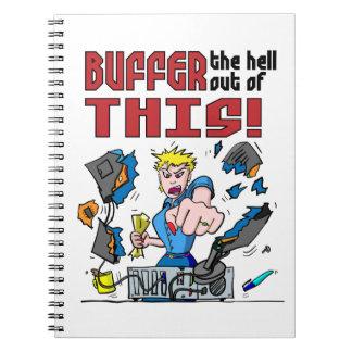 ¡Proteja eso! Rabia del ordenador Cuaderno