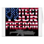 Proteja su libertad felicitaciones