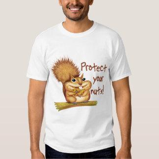 Proteja sus nueces camiseta