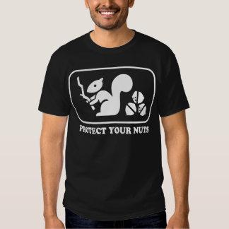 Proteja sus nueces camisetas