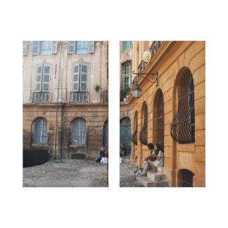 Provence estiró la impresión de la lona lona estirada galerías