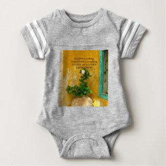 proverbio del Griego de la cita del amor del Body Para Bebé