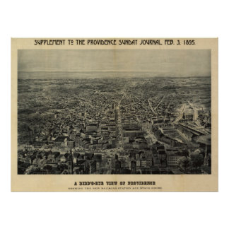 Providence, Rhode Island 1895 Poster