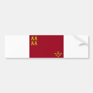 provincia de España de la bandera de la región de  Pegatina Para Coche