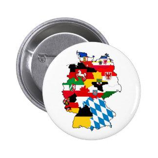 provincia política de la región del mapa de la chapa redonda 5 cm