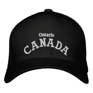 Provincias de Canadá - gorra bordado Gorra De Beisbol