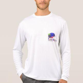 Proyecto de golpe ligero pintado isla de las camiseta