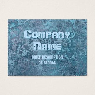 """Proyecto original """"descripción"""" de la corrosión tarjeta de negocios"""