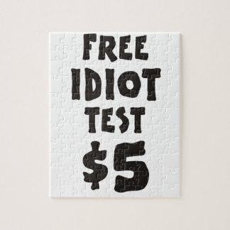 Prueba libre del idiota puzzle