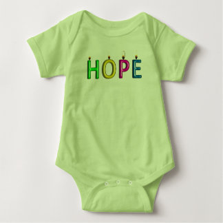 Prueba viva de la camiseta del bebé de la