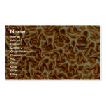 Pseudoscorpion - lado tarjeta de visita