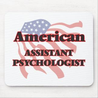 Psicólogo auxiliar americano alfombrilla de ratón