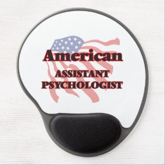 Psicólogo auxiliar americano alfombrilla gel