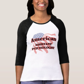 Psicólogo auxiliar americano camiseta