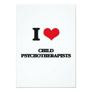 Psicoterapeutas del hijo natural I Invitación 12,7 X 17,8 Cm