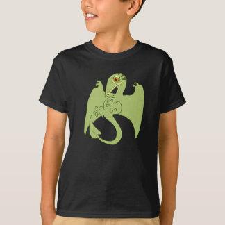 Pterosaur verde camiseta