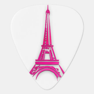 Púa De Guitarra 3d torre Eiffel, clipart de Francia