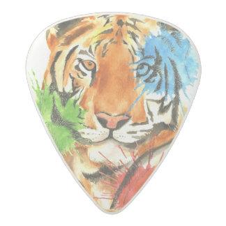 Púa De Guitarra Acetal Salpicadura del tigre