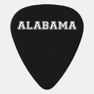 Púa De Guitarra Alabama