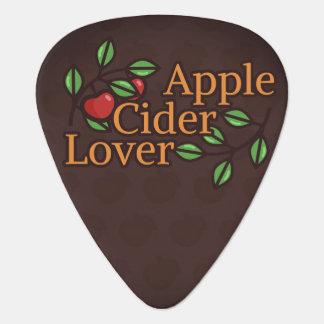 Púa De Guitarra Amante de la sidra de Apple