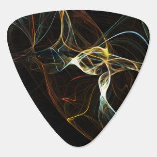 Púa De Guitarra Arte abstracto del humo