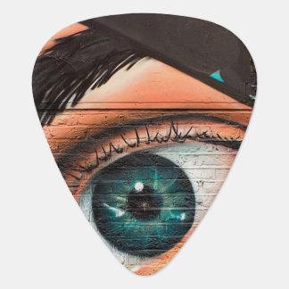 Púa De Guitarra Arte de la pintada
