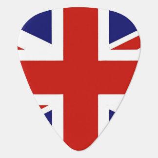 Púa De Guitarra Bandera británica