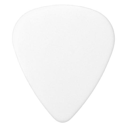 Grosor medio: 0,80 mm Guitar Picks, Delrin blanco