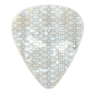 Púa De Guitarra Celuloide Nacarado Arte del texto ASCII del punto del Nordic de la