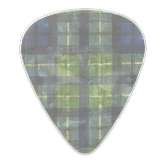 Púa De Guitarra Celuloide Nacarado Colores del equipo del vintage del verde azul del