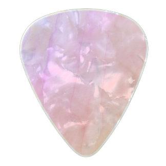 Púa De Guitarra Celuloide Nacarado Piedra nacarada de la acuarela de Shell