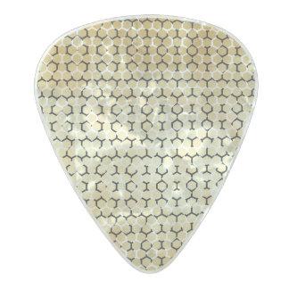 Púa De Guitarra Celuloide Nacarado Reptil moderno del vegano del moreno de Snakeskin
