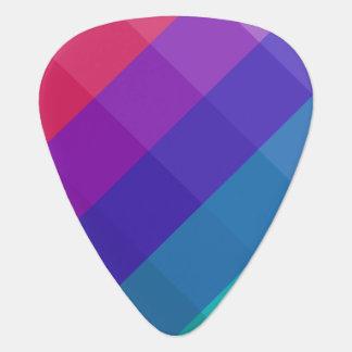 Púa De Guitarra Colores cúbicos