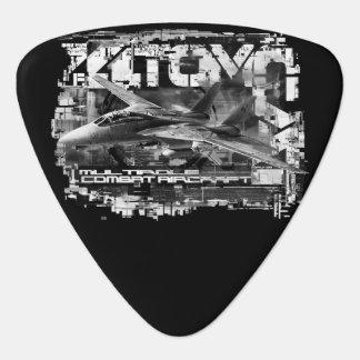 Púa de guitarra de Groverallman del triángulo de