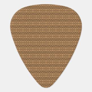 Púa de guitarra de madera del diseño
