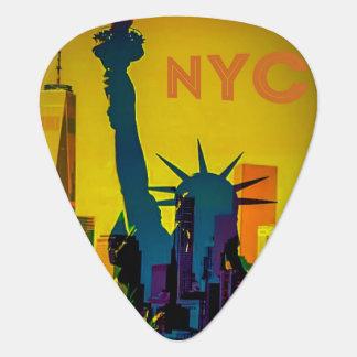 Púa de guitarra de NYC
