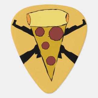 Púa De Guitarra Defienda la pizza del punk del estallido