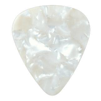 Púa de guitarra del celuloide de la perla