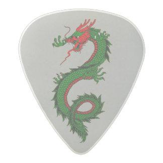 Púa de guitarra del dragón del rugido