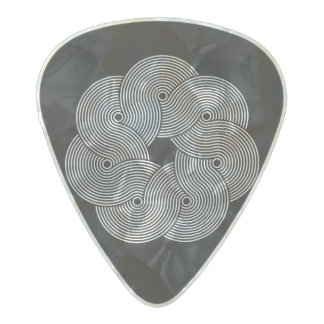 Púa de guitarra del remolino